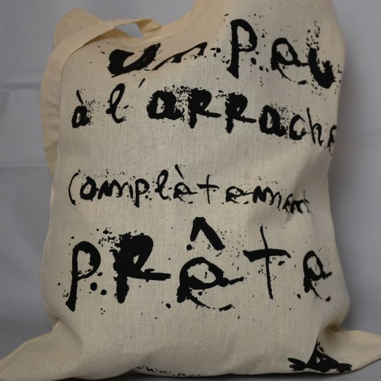 tote bag à l'arrache